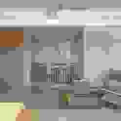 디자이너의 집 미니멀 라이프 – 상가주택 인테리어 미니멀리스트 거실 by 디자인투플라이 미니멀