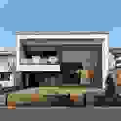 양산시 물금읍 증산리 단독주택 모던스타일 주택 by 피앤이(P&E)건축사사무소 모던