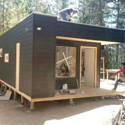 Cabañas de madera Incove - Casas de madera minimalistas Casas de campo