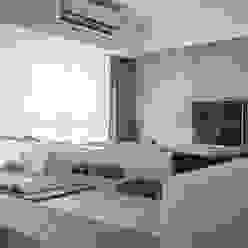 多觀.視野 鼎士達室內裝修企劃 書房/辦公室 木頭 White