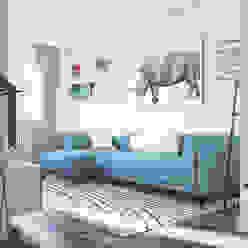 Blue Dream Apartment Eleonora Frosini Soggiorno moderno