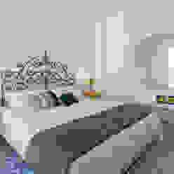 casa IM Giuseppe Iacono Architetto Camera da letto in stile mediterraneo