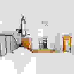 Appartamento alla Balduina, Roma Francesca Pierucci Architetto Camera da letto minimalista