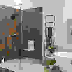 Walk-In Duschabtrennung Moderne Badezimmer von Glasservice König Modern
