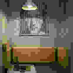 2BHK, Brahma Avenue, Kondhawa Design Evolution Lab Modern style bedroom