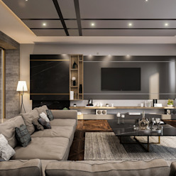Oturma odası Modern Oturma Odası ANTE MİMARLIK Modern