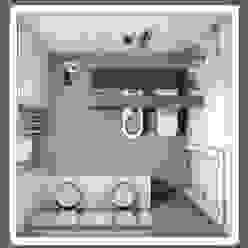 Fratelli Pellizzari spa Klassische Badezimmer Fliesen