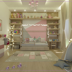Modern Kid's Room by MD&D Arquitetura e Interiores Modern