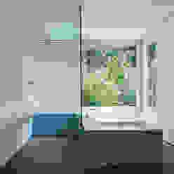 Wohnhaus Reinach Moderne Badezimmer von Ave Merki Architekten Modern Stein