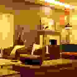 ANAND HOUSE, NEW DELHI Modern Living Room by be ZEN Design Modern