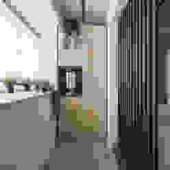 玄關 你你空間設計 飯店 木頭 Brown
