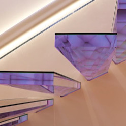 Siller Treppen/Stairs/Scale Escalier Verre Transparent