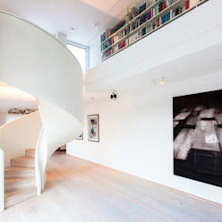 Siller Treppen/Stairs/Scale Escalier Blanc