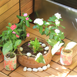 Custom decoration Interioforest Plantscaping Solutions Balcony