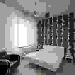 """Casa """"IP"""" interni prospettici MAMESTUDIO Camera da letto moderna"""