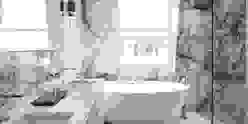 Eaton Mews North - Master Bathroom Casas de banho modernas por Roselind Wilson Design Moderno
