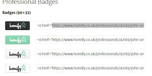 How do I integrate badges and widgets? by homify UK