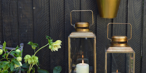 Brass Lanterns homify GiardinoAccessori & Decorazioni