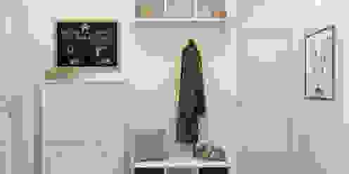 北欧スタイルの 玄関&廊下&階段 の Ekaterina Donde Design 北欧
