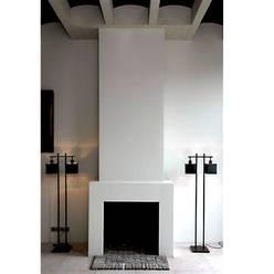غرفة المعيشة تنفيذ Archivice Architektenburo