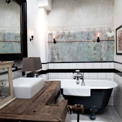 Baños de estilo  de BRICKS Studio