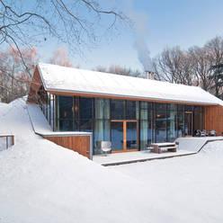 Dutch Mountain:  Huizen door KRFT