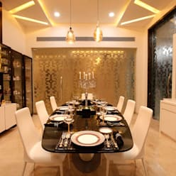 NEMI VILLA:  Dining room by INNERSPACE