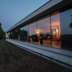 Glazen achtergevel :  Huizen door Engelman Architecten BV