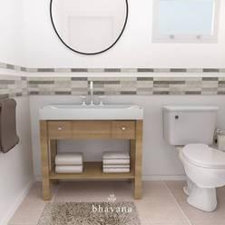 Badkamer door Bhavana