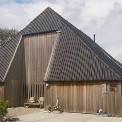 woonboerderij architectuur:  Huizen door Dick de Jong Interieurarchitekt