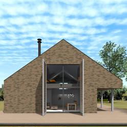 Schuurwoning Ommen:  Huizen door Koezen Architecten