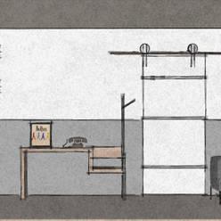 C&L - :  Woonkamer door MEL design_