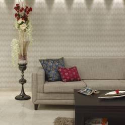 Serenity home!:  Living room by Neha Changwani