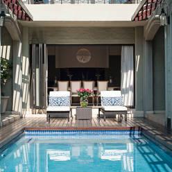 Pool Deck Area:  Pool by Tru Interiors