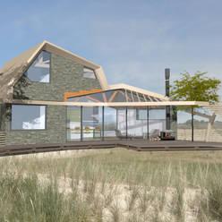 frame connection:  Huizen door hans moor architect