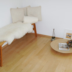 Münchner home staging Agentur GESCHKA 스칸디나비아 거실