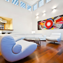 ARQUITECTURA EN PROCESO Salon minimaliste