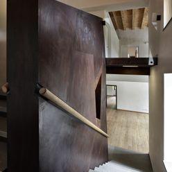 Elia Falaschi Fotografo Couloir, entrée, escaliers modernes