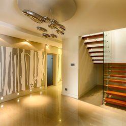 Studio Projektowe Projektive Moderner Flur, Diele & Treppenhaus
