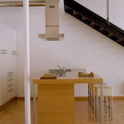 Loft Bianco - Paola Maré Interior Designer Paola Maré Interior Designer Cucina in stile industriale