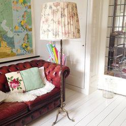 Voorbeelden Retroloekie Rustieke woonkamers