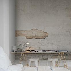 Cracks Wallpaper by Mister Smith Interiors homify Walls & flooringWallpaper