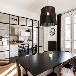 Rénovation d'un appartement à Lyon 6e homify Cuisine moderne
