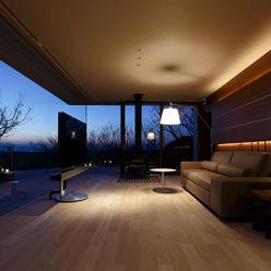 Mアーキテクツ|高級邸宅 豪邸 注文住宅 別荘建築 LUXURY HOUSES | M-architects Salones de estilo moderno