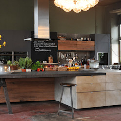 Küchenevent Berlin 2014 dePalma&Stark Industriales Messe Design