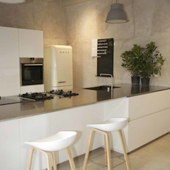 CASA BELFIORE studio di architettura DISEGNO Cucina moderna