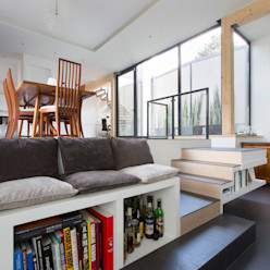 agence MGA architecte DPLG Gang, hal & trappenhuisTrappen