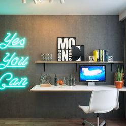 IK-architects Escritórios minimalistas
