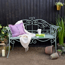 Ornate Garden Bench homify GiardinoMobili