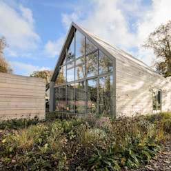Lofthome Bergen (NH) Blok Kats van Veen Architecten Moderne huizen